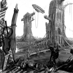 Fantasy Landscape [unfinished]