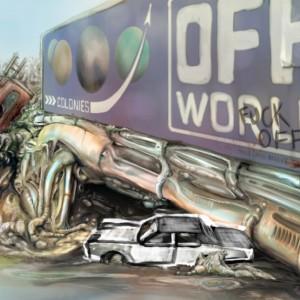 Off World Biomechanical Landscape