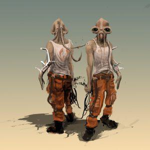 Alien Character Stu