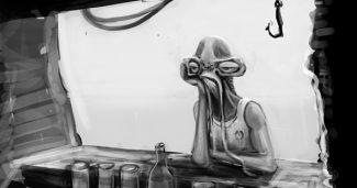 Alien Bar Scene