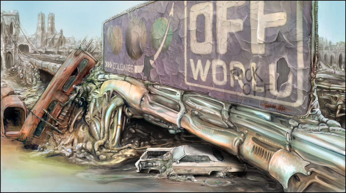 Off World Biomechanical Landscape